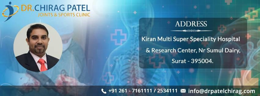 Dr Chirag Patel - Orthopedic Surgeon in Surat