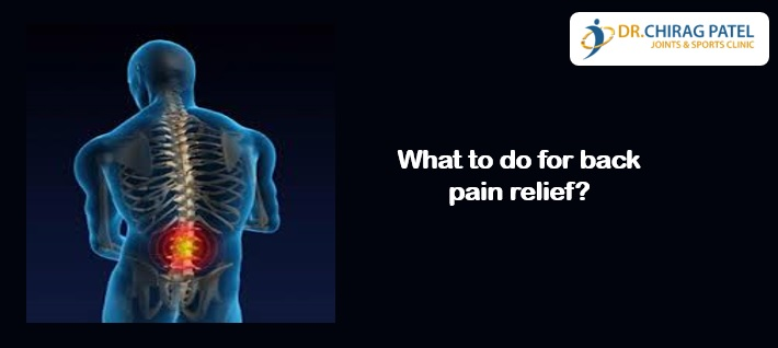 What to do for back pain relief