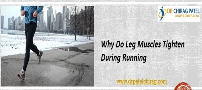 Why do Leg Muscles tighten during running