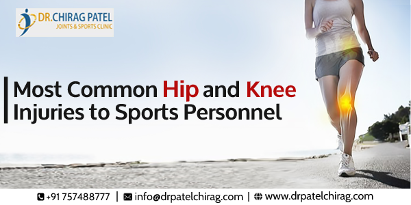 Common Hip and Knee Injuries to Sports Personnel