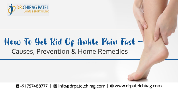Ankle Pain Causes and Prevention